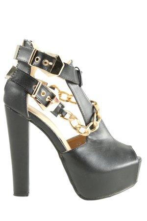 Juliet High Heel Sandaletten schwarz Casual-Look
