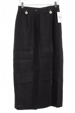 Julius Lang Traditional Skirt black-oatmeal simple style
