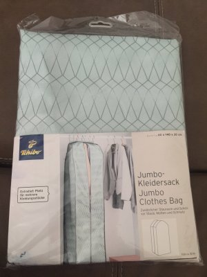 tchibo Borsa porta abiti blu pallido