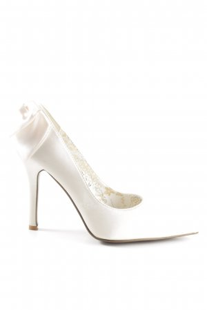 Jumelles High Heels wollweiß Elegant