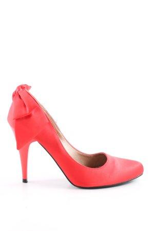 Jumelles High Heels rot Elegant