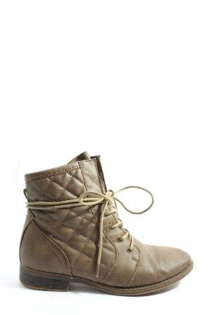 Jumex Booties braun Casual-Look