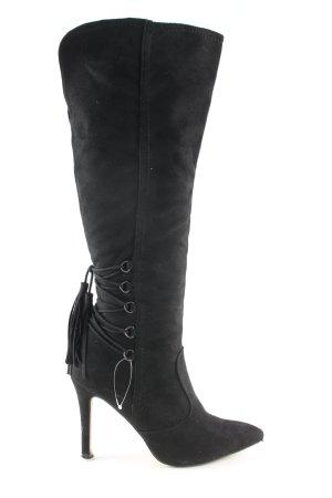 Jumex High Heel Boots black casual look