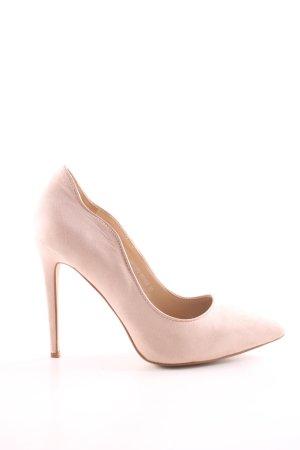 Jumex High Heels wollweiß Elegant