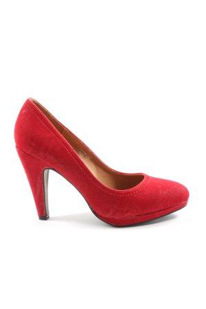 Jumex High Heels rot Casual-Look