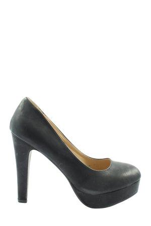 Jumex High Heels schwarz Business-Look