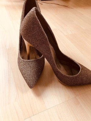 Jumex High Heels bronze-colored-gold-colored