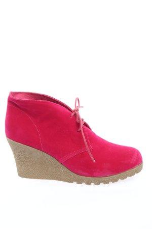 Jumex Keil-Stiefeletten pink Casual-Look