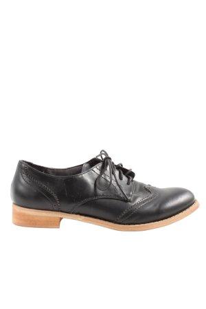 Jumex Scarpa Oxford nero-marrone stile professionale