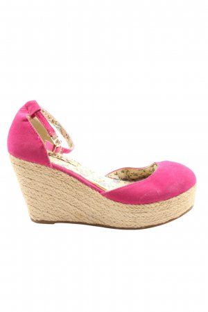 Jumex Plateau-Pumps pink-creme Casual-Look