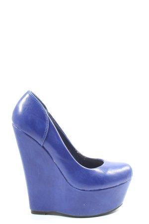 Jumex Décolleté con plateau blu elegante