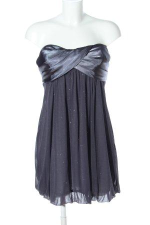 Bandeau Dress light grey-silver-colored elegant