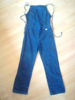 Jumper Jeans Sommer Highwaist Capri Festival Einteiler Rückenfrei