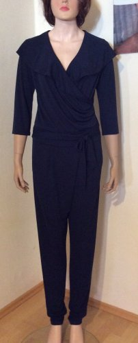 Cartoon Jumpsuit dark blue polyester