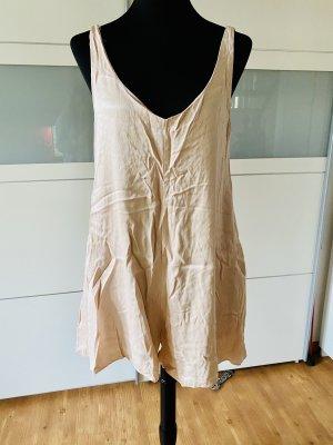 Zara Trafaluc Tailleur-pantalon rose chair-noir