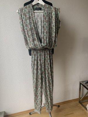 Manuel Luciano Tailleur-pantalon multicolore soie
