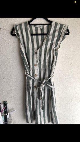 Made in Italy Pantalón corto de talle alto blanco