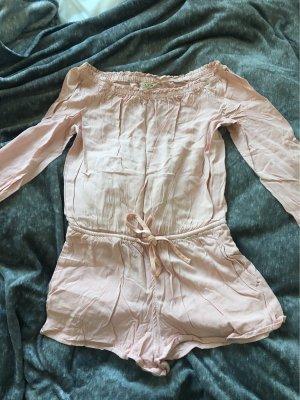 Review Robe asymétrique or rose
