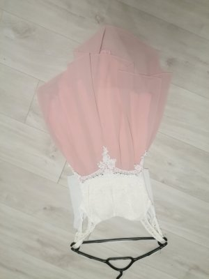 unknown Kurzer Jumpsuit white-pink