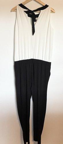 Comma Jumpsuit white-black