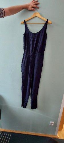 Tom Tailor Langer Jumpsuit dark blue