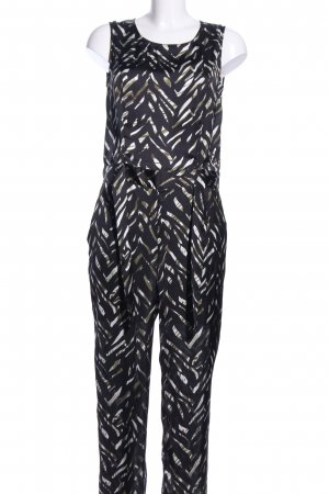 Jumpsuit abstract patroon casual uitstraling