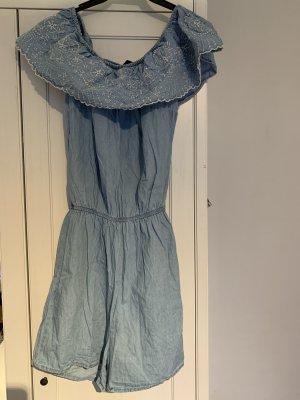Janina Onesie cornflower blue-white