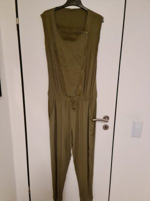 CoolCat Langer Jumpsuit olive green-khaki