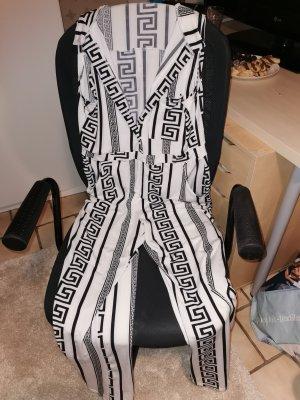 jumpsuit black & white