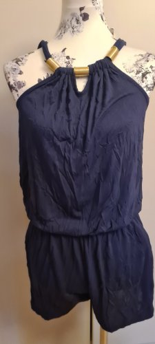 Buffalo Kurzer Jumpsuit azul oscuro