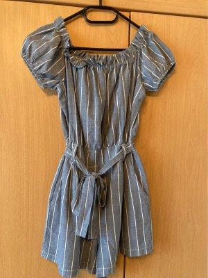 styled in italy Garnitur damski błękitny-biały