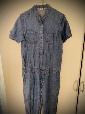 UP Fashion Spodnie garniturowe niebieski