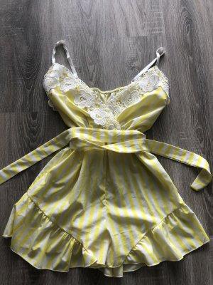 Tuta giallo-bianco