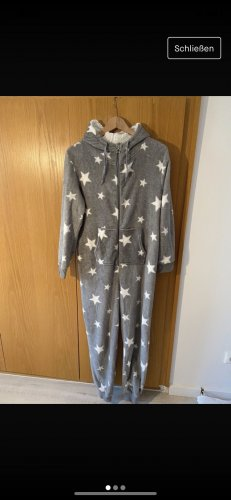Clockhouse Pyjama light grey-white