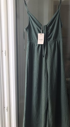 Sukienka bez ramiączek leśna zieleń-khaki