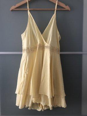 SheIn Jumpsuit yellow