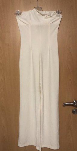 Kombinezon w kolorze białej wełny