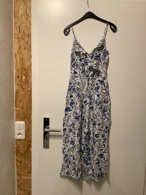 H&M Jumpsuit wit-blauw