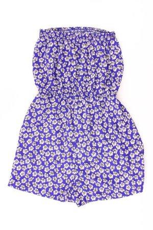 Jumpsuit Größe S blumen blau aus Polyester