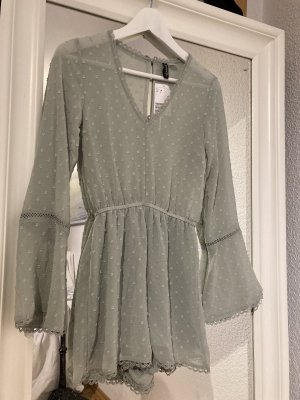 Hennes Collection by H&M Chemisier body vert menthe-gris vert