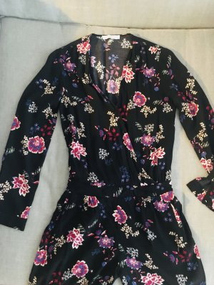 Promod Garnitur damski czarny-różowy Tkanina z mieszanych włókien