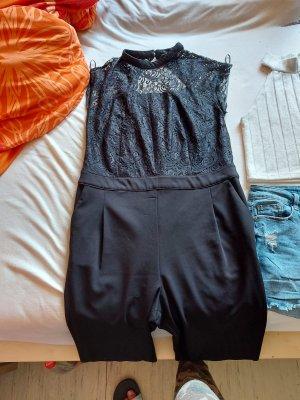 jumpsuit, hotpants, t-shirt