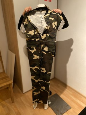 Jumpsuit in carmouflage