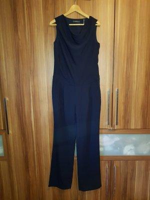 Jumpsuit in dunkelblau