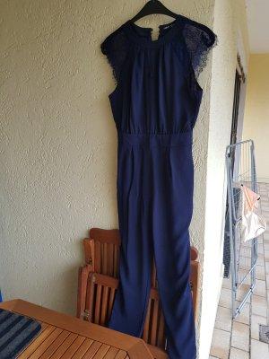 jumpsuit in dunkelblau von shein