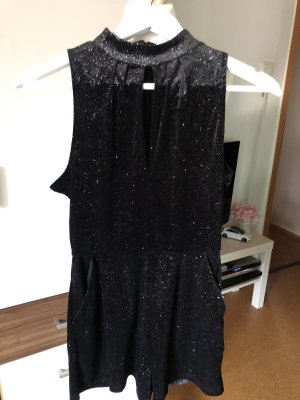 Jumpsuit in Glitzeroptik NEU