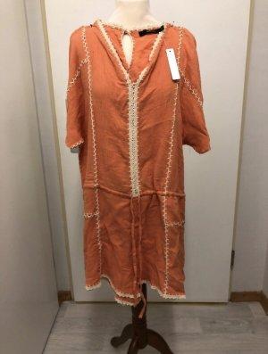 Ark & Co Kurzer Jumpsuit oranje-licht Oranje