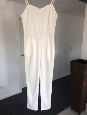 Jumpsuit in weiß