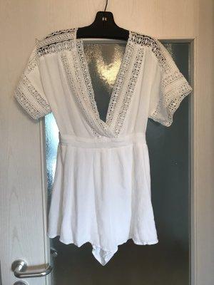 Forever 21 Jumpsuit white