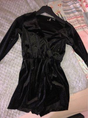 H&M Camicia oversize nero-argento